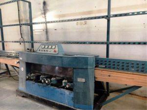 Zafferani 4 korongos üvegcsiszoló gép