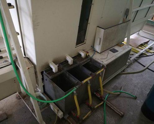 Függőleges üvegmosó gép