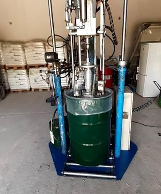 Üvegtömítő gép