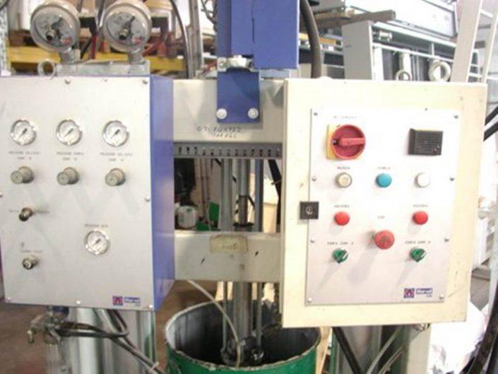 Marval thiokolozó gép üvegtömítéshez