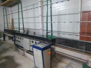 Zanetti glass edging machine