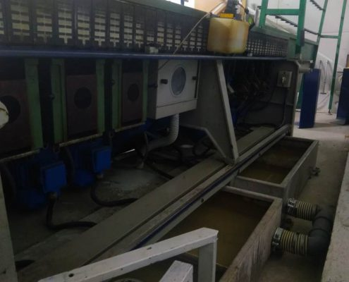 Zanetti glass edging machine