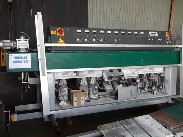 Bottero straight line glass edging machine