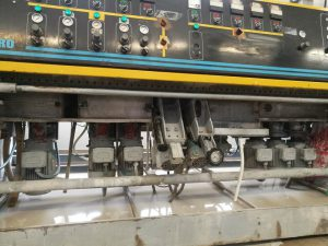 Bottero edging and polishing machine
