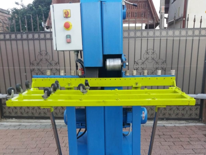 Glass industrial belt edger