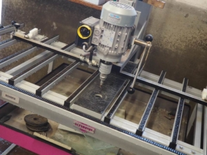 Knopp one-side vertical glass drilling machine